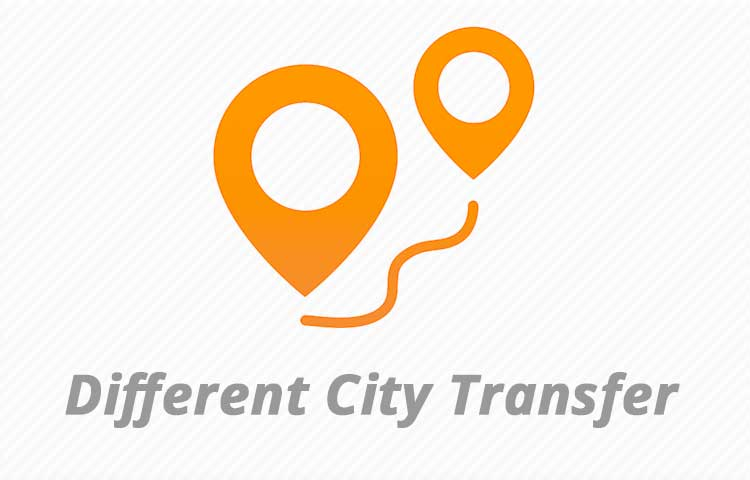 Different City Transfer